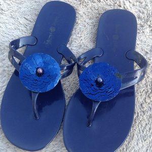 Lindsay Phillips blue sequins